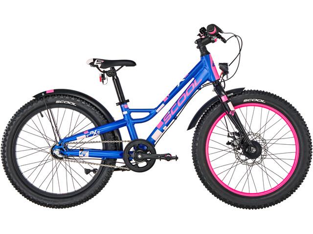 s'cool faXe 20 3-S Børn, blue/pink matt